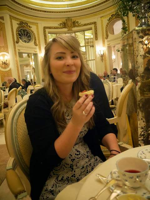 Ritz afternoon tea palm court