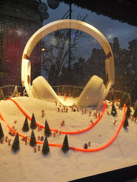 Selfridges window display