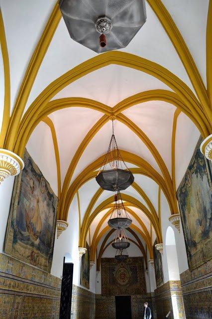 Moorish palace of Alcazar seville spain