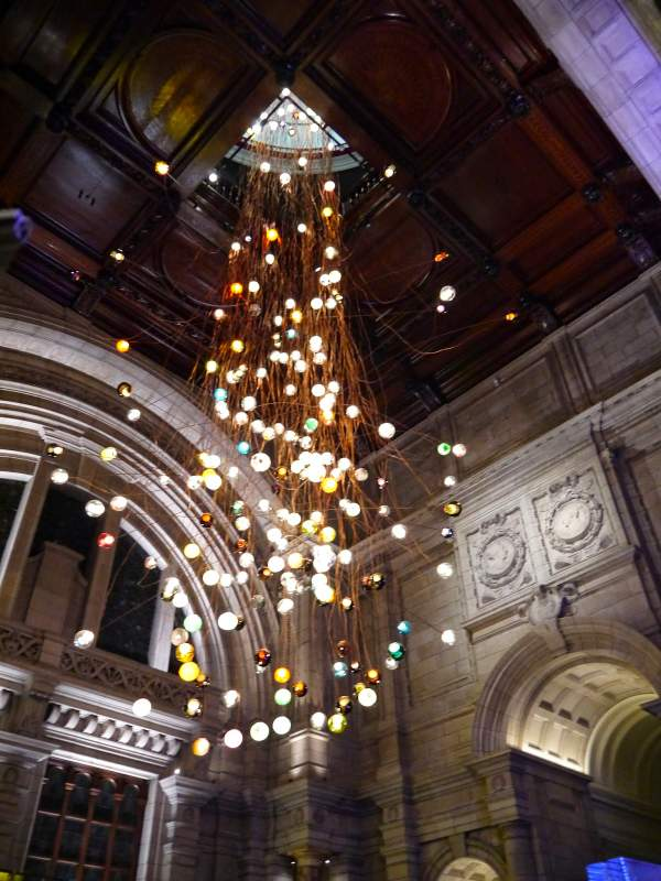 victoria and albert museum bocci lighting