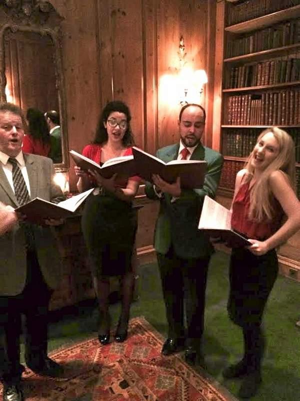 searcys 30 pavillion road carol singers