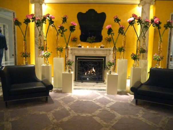 The Berkeley Hotel Entrance lobby