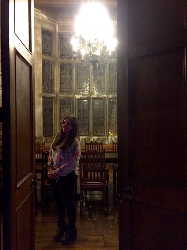 the 1877 club harrow alex fitch room