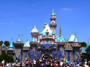 Disneyland california sleeping beauty's castle