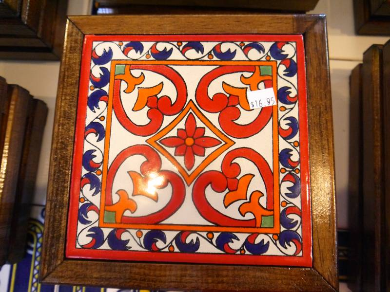 seaport village san diego tile shop