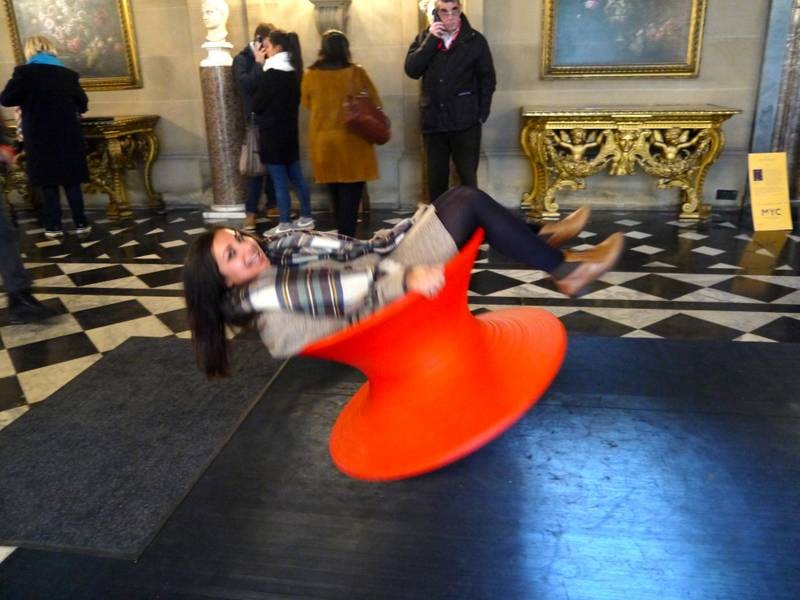 Chatsworth house make yourself comfortable
