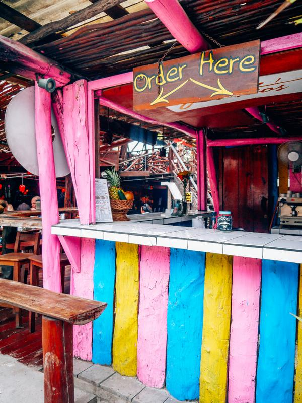 Tulum ice cream shop