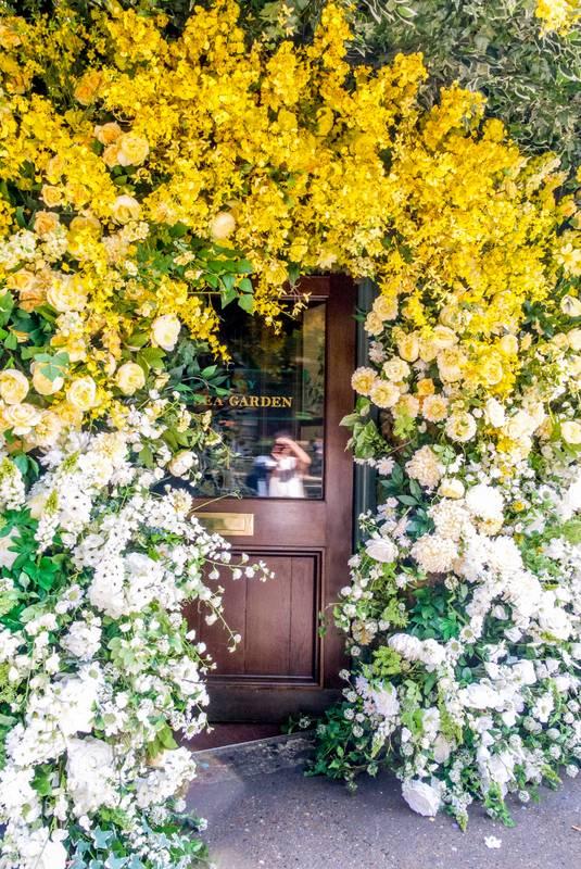Chelsea Ivy Garden Jenny Packham