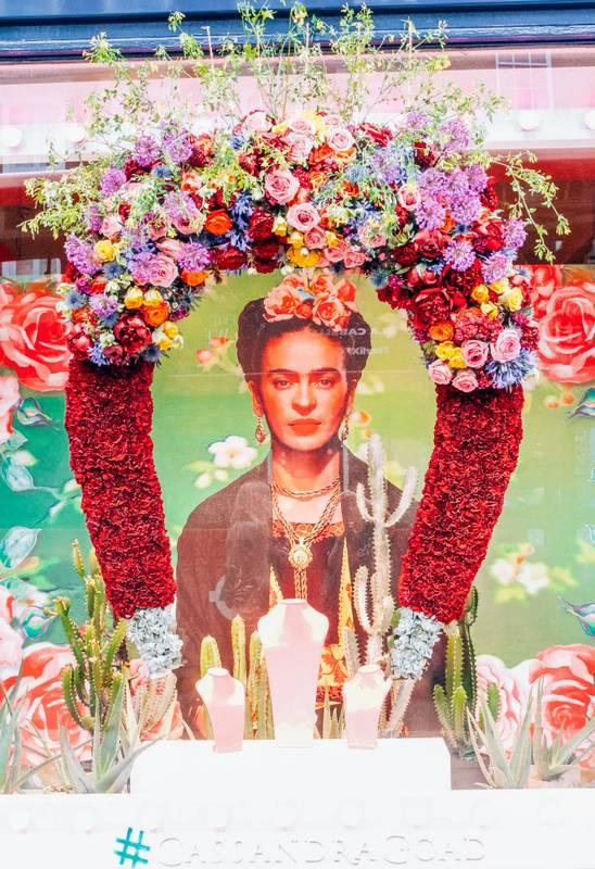Chelsea In Bloom Frida Khalo